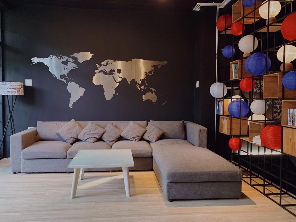 Phòng khách N&D homestay Cần Thơ