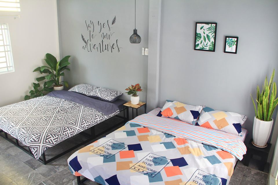 Phòng ngủ tại Passe homestay