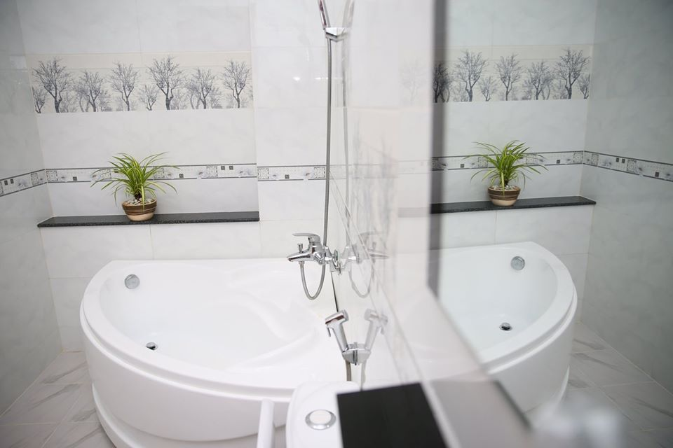 Phòng tắm Mun's homestay
