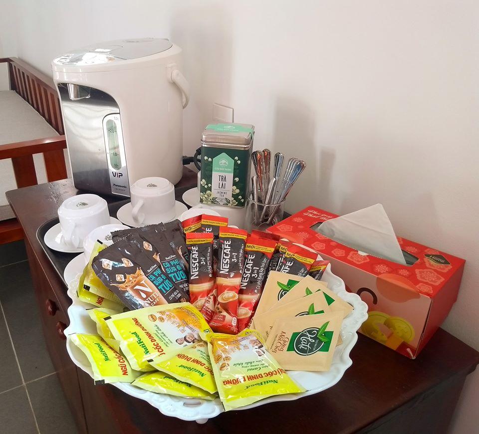 Queenie House có trà, cafe và ngũ cốc miễn phí
