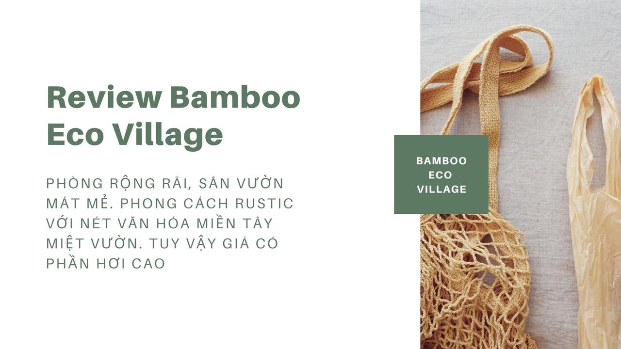 Review Bamboo homestay Cần Thơ với Miền Tây có gì