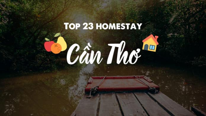 Top 23 homestay Cần Thơ
