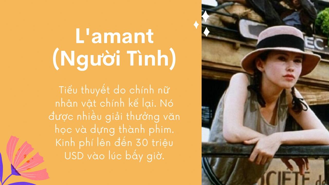 Bộ phim L'amant (Người Tình) năm 1992
