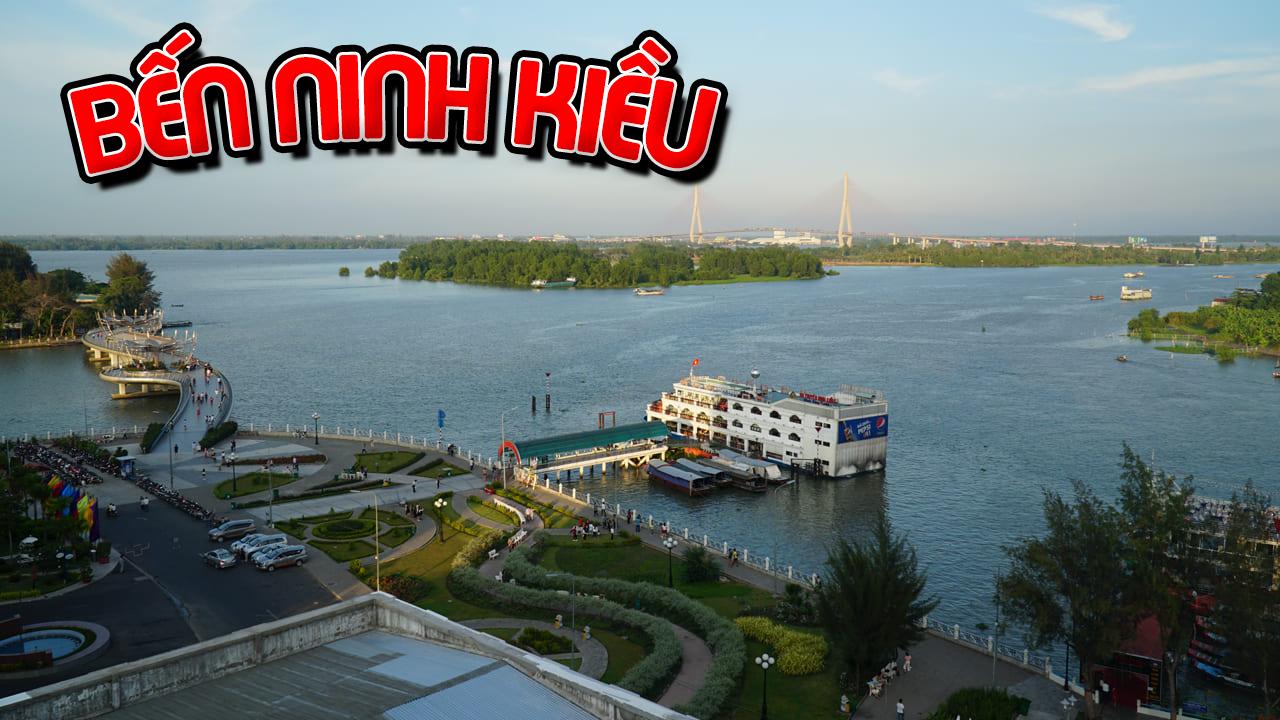 Bến Ninh Kiều và Cầu Đi Bộ là một điểm du lịch cần thơ 2020 hấp dẫn