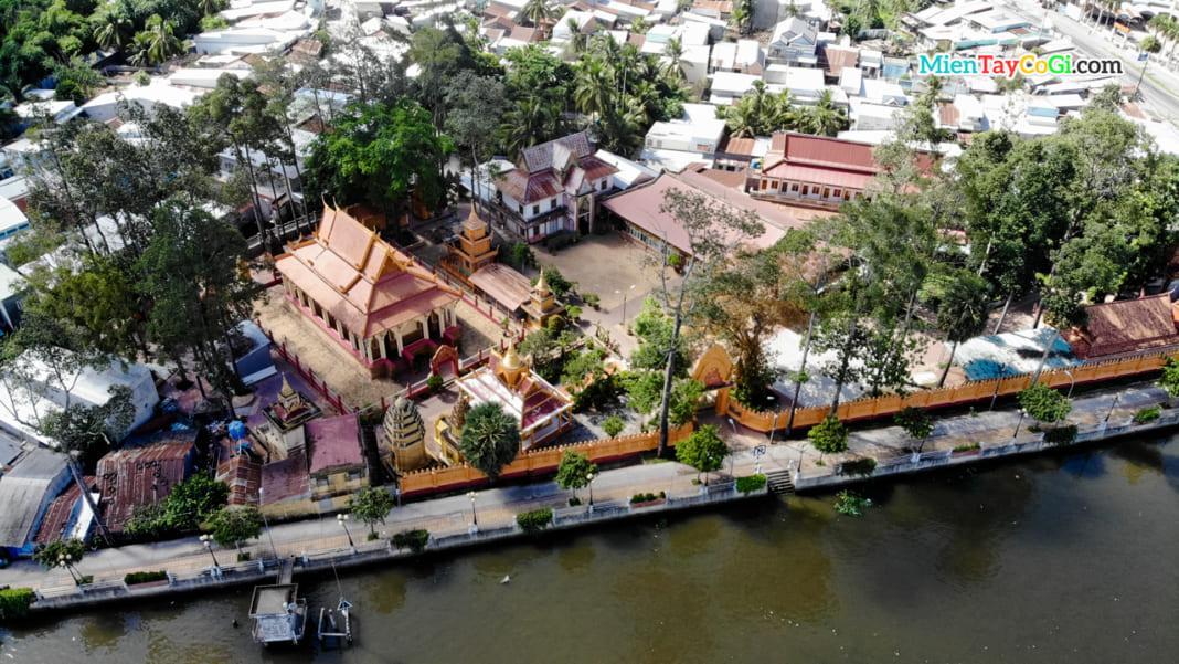 Chùa Khmer Pothisomron lâu năm nhất ở Cần Thơ