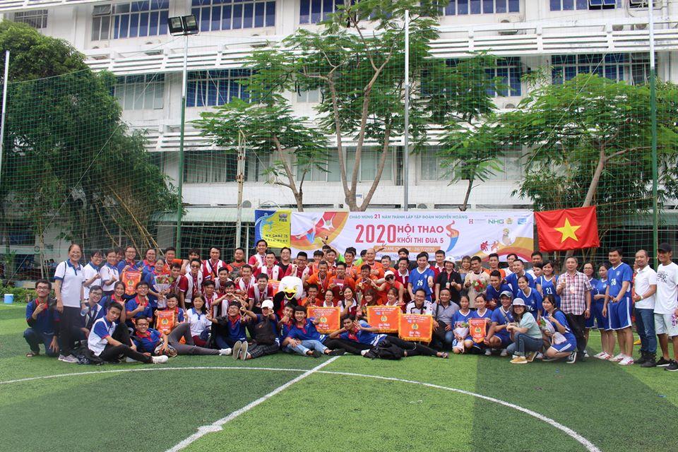 Hội thao 2020 đại học Hùng Vương