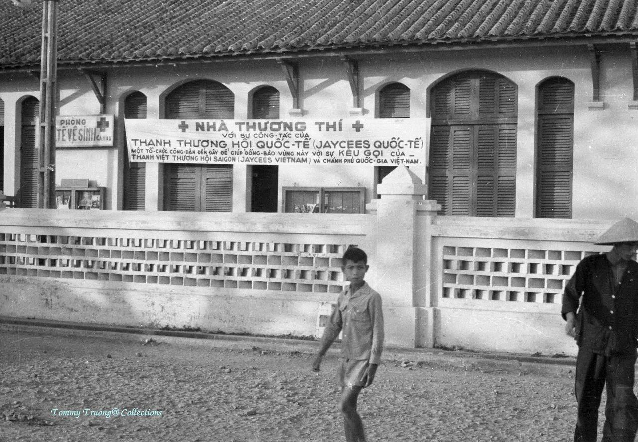 Nhà Thương Thi ở Cà Mau năm 1960s