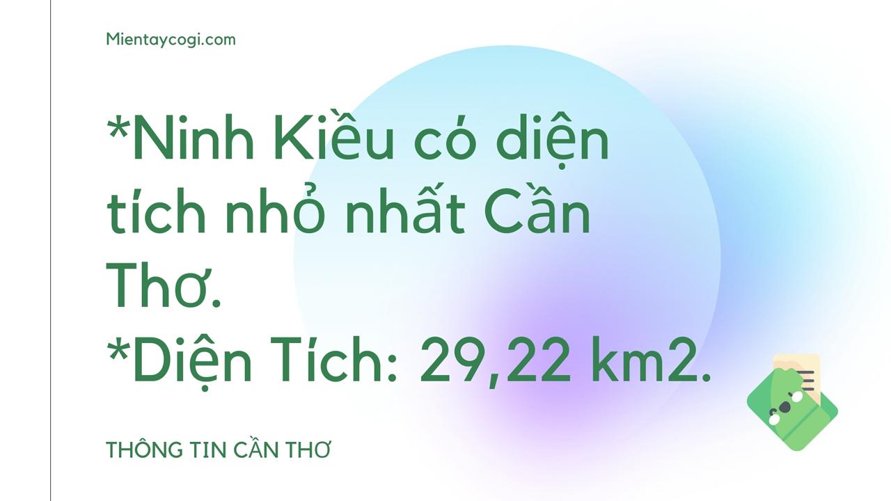 Thông tin về quận Ninh Kiều Cần Thơ