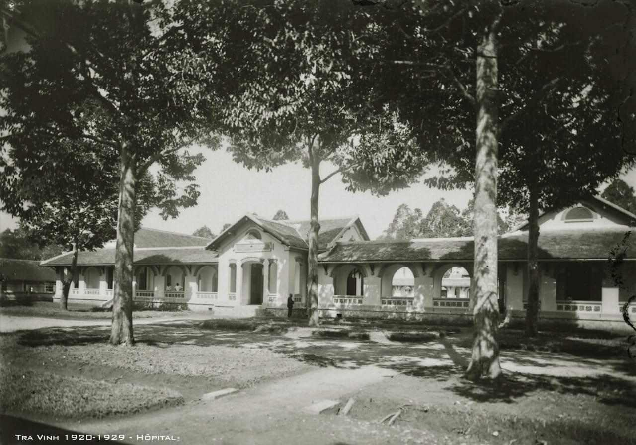 Bệnh viện tỉnh Trà Vinh thập niên 1920