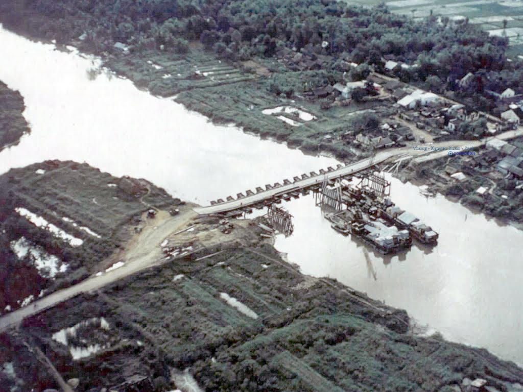 Cầu Ba Si - Vĩnh Bình ngày 26 tháng 10 năm 1971 (Càng Long - Trà Vinh)