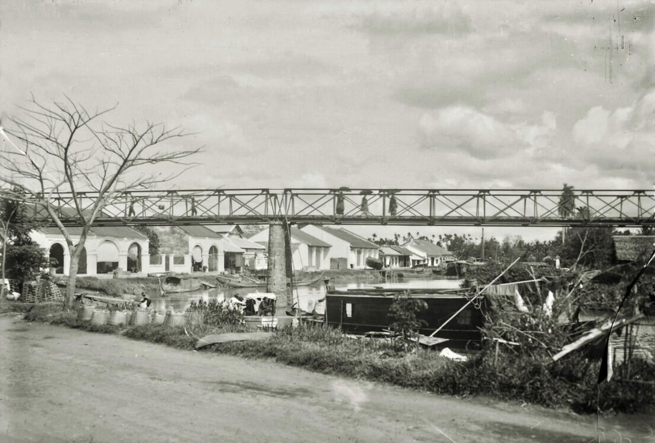Cầu Cần Chông ở quận Tiểu Cần tỉnh Trà Vinh