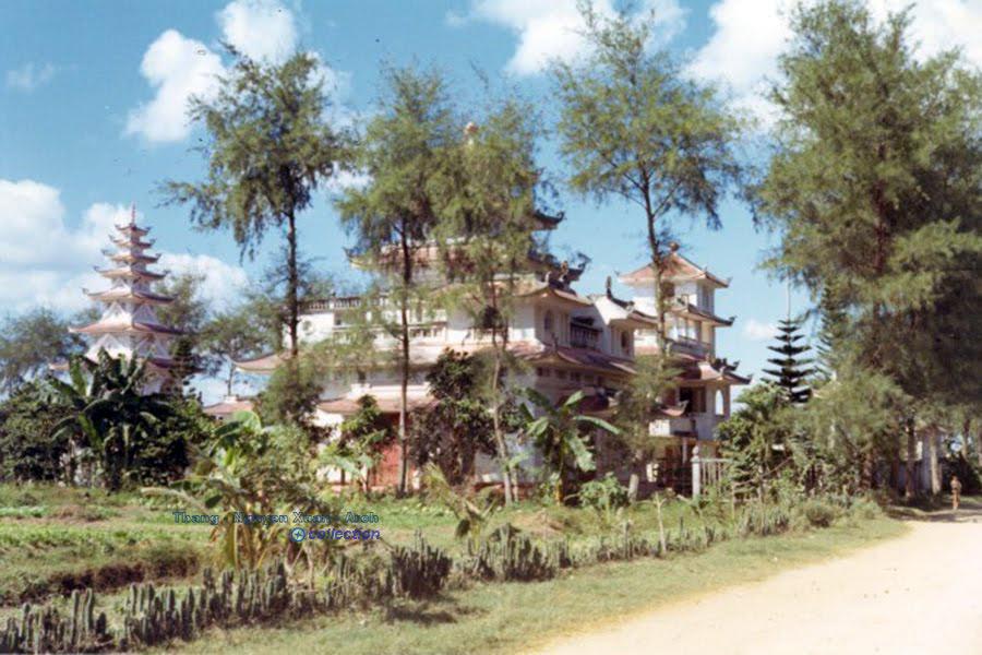 Chùa Ông Hảo - Càng Long - Phú Vinh năm 1971