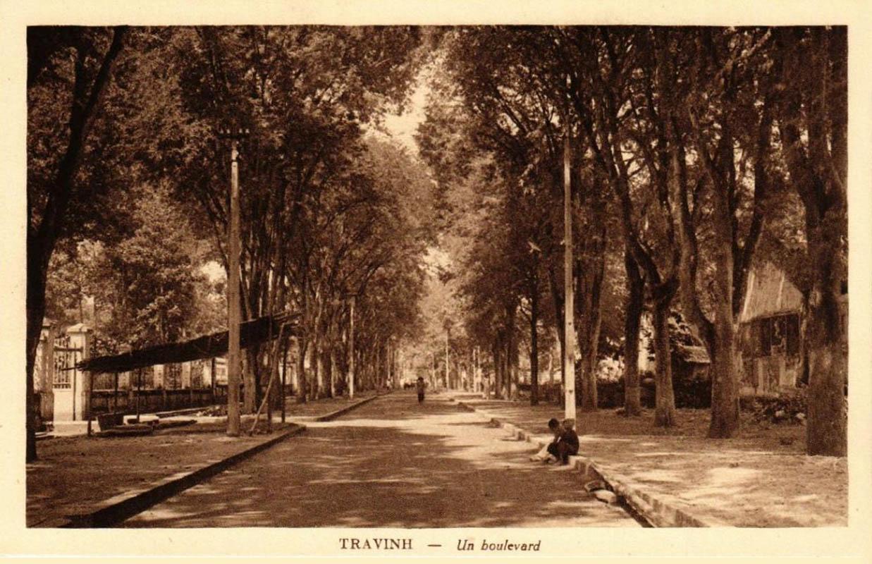 Đại lộ Trà Vinh ngày xưa