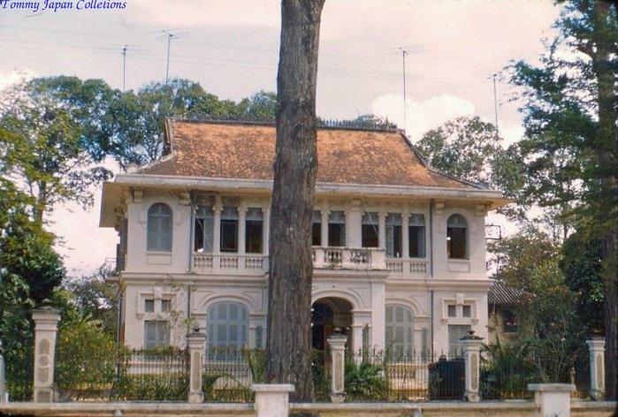 Dinh tỉnh trưởng Trà Vinh năm 1962 - George T
