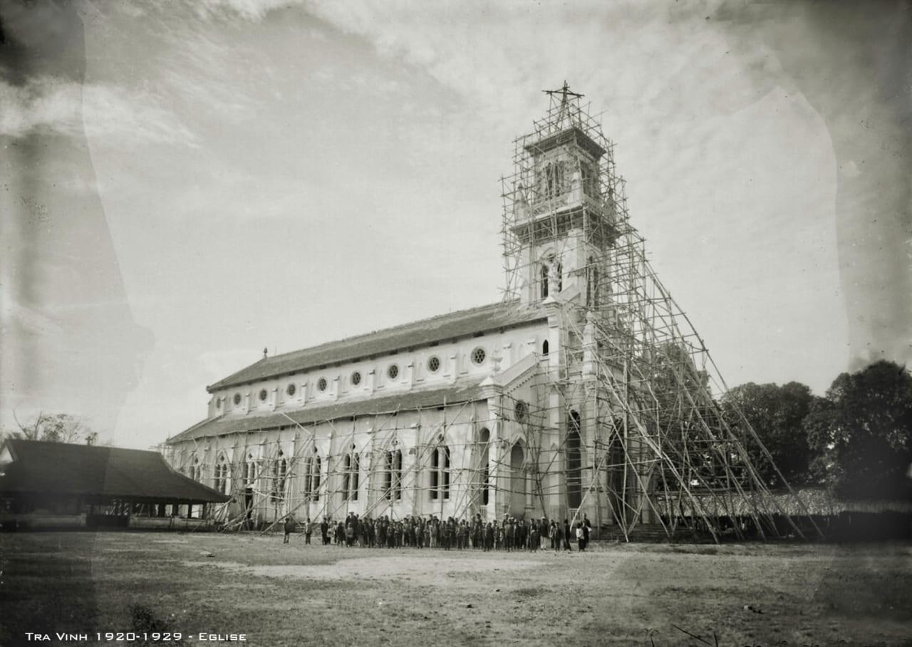 Nhà thờ Giáo xứ Vĩnh Kim - xã Vĩnh Kim - huyện Cầu Ngang - tỉnh Trà Vinh
