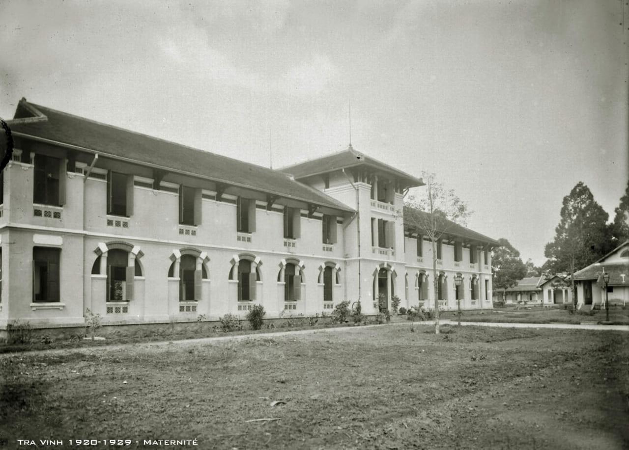 Bảo sanh viện bệnh viện tỉnh Trà Vinh thập niên 1920