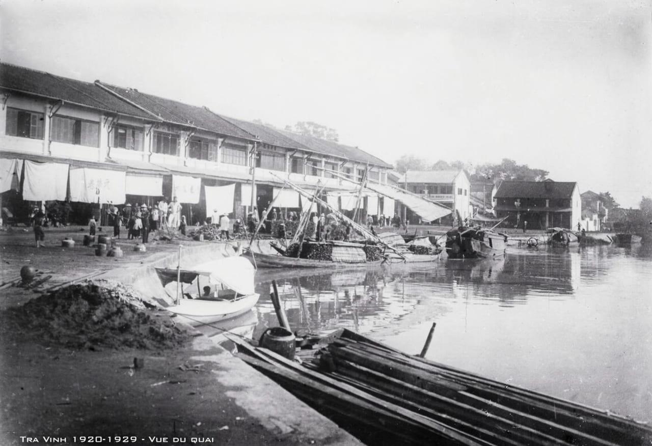 Bến tàu ở Trà Vinh