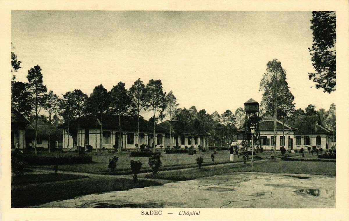 Bệnh viện Sa Đéc ngày xưa