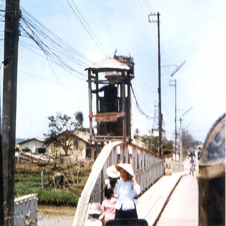 Cầu Cao Lãnh năm 1968