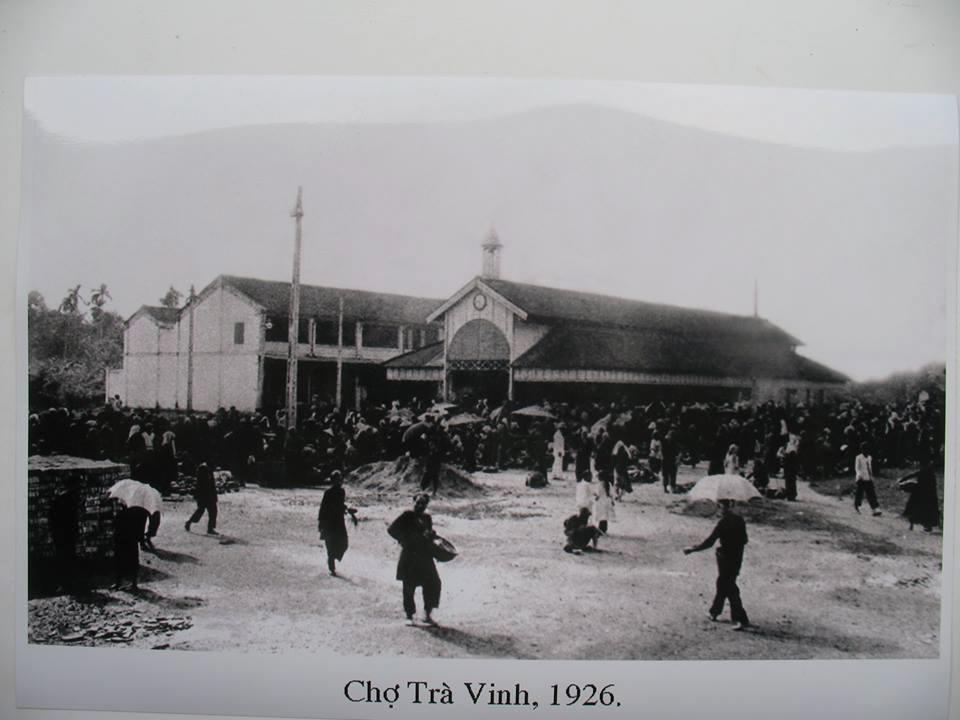 Chợ Trà Vinh năm 1926
