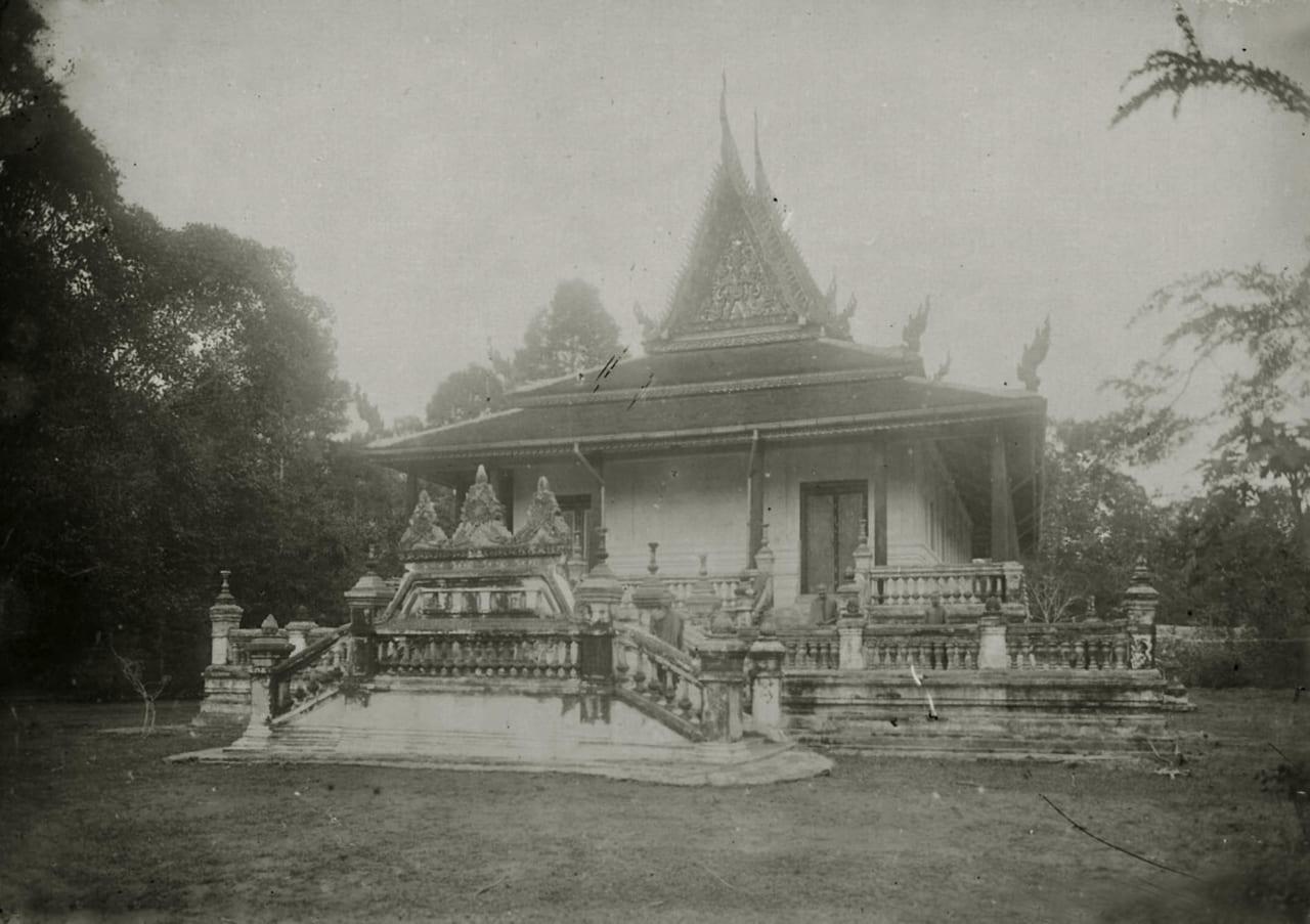 Chùa Khmer xưa ở Trà Vinh