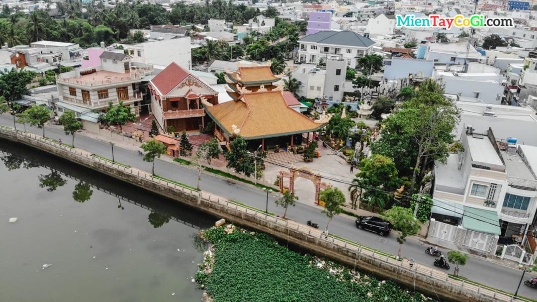Chùa Thiên Quang flycam