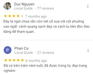 Đánh giá của khách tham quan về chùa Hiệp Minh Cần Thơ