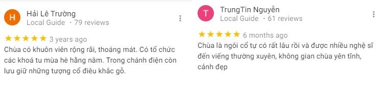 Đánh giá của khách tham quan về chùa Long Quang ỏ Cần Thơ