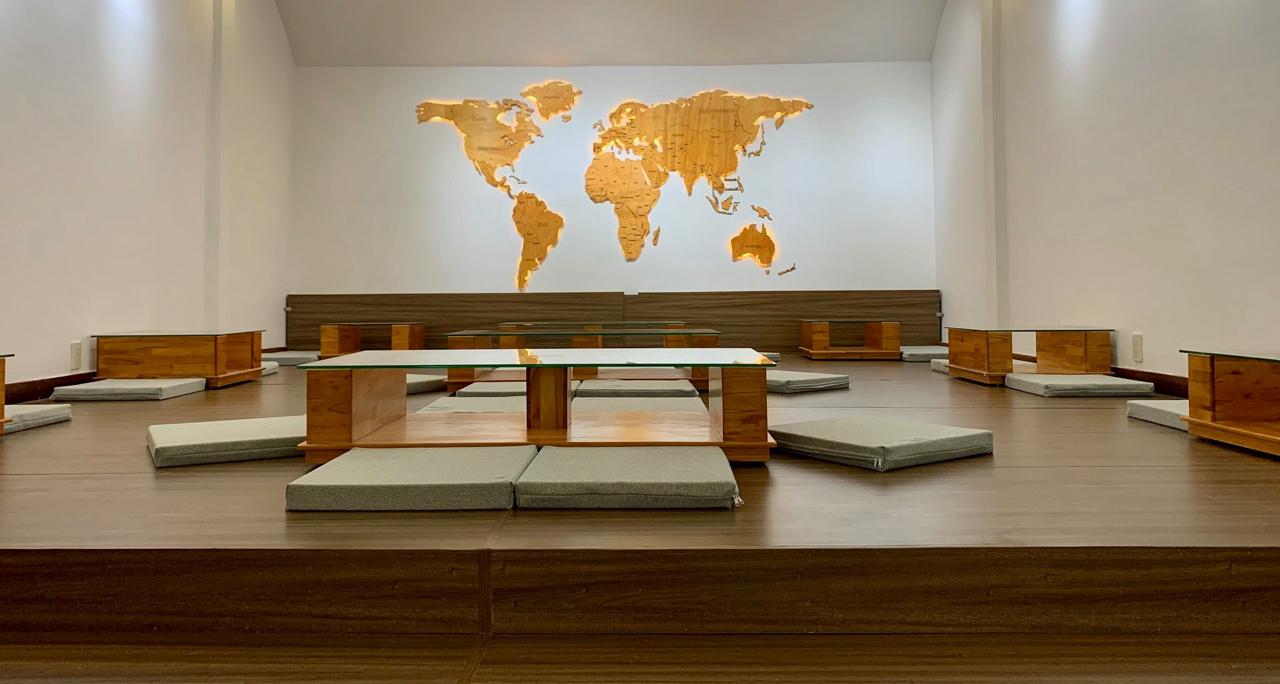 Không gian ngồi bệt phong cách Nhật Bản