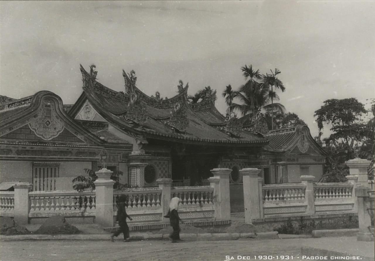 Kiến An Cung ở Sa Đéc năm 1930