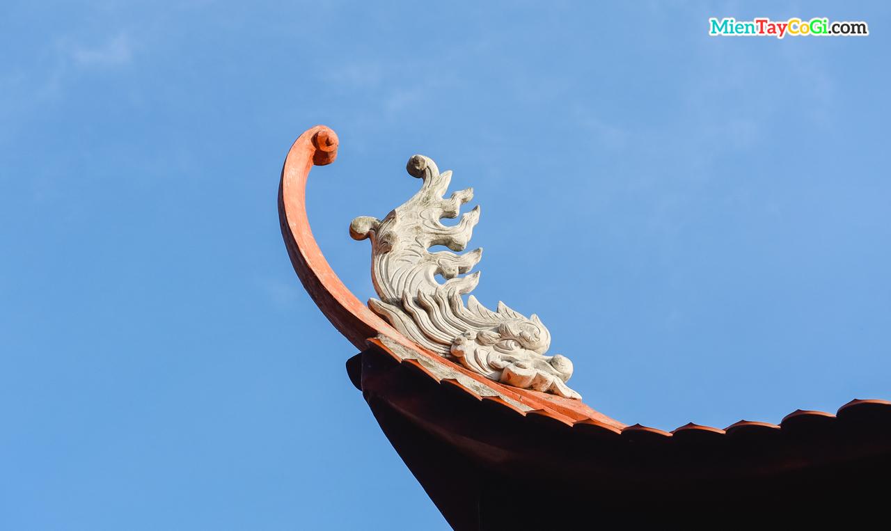 Kiến trúc mái ở Tây Thiên Nhất Trụ
