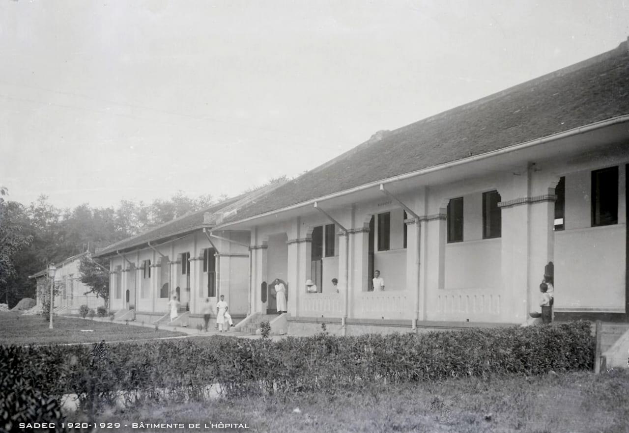 Một bệnh viện ở Sa Đéc 1920s