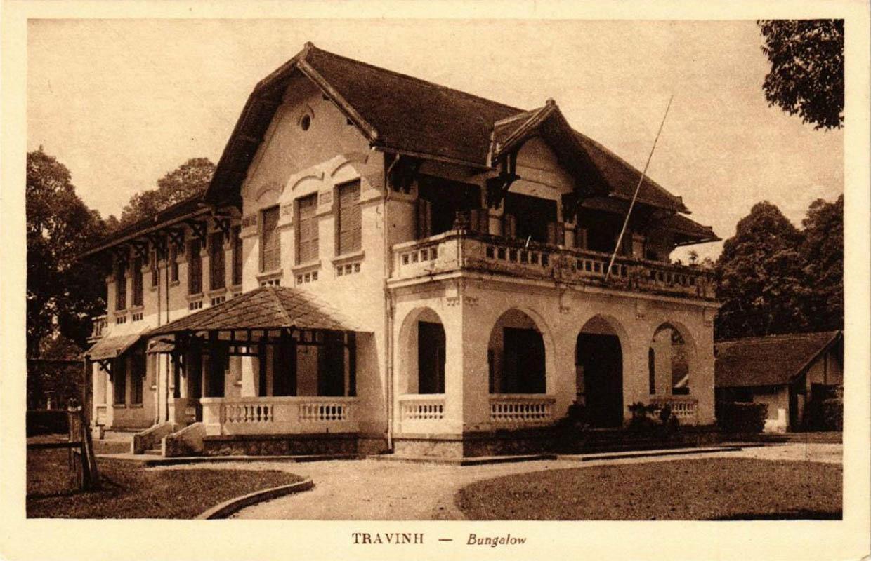 Bungalow ở Trà Vinh ngày xưa