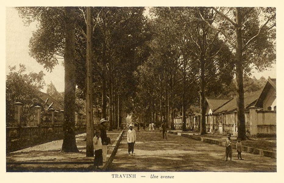 Một con đường xưa ở Trà Vinh