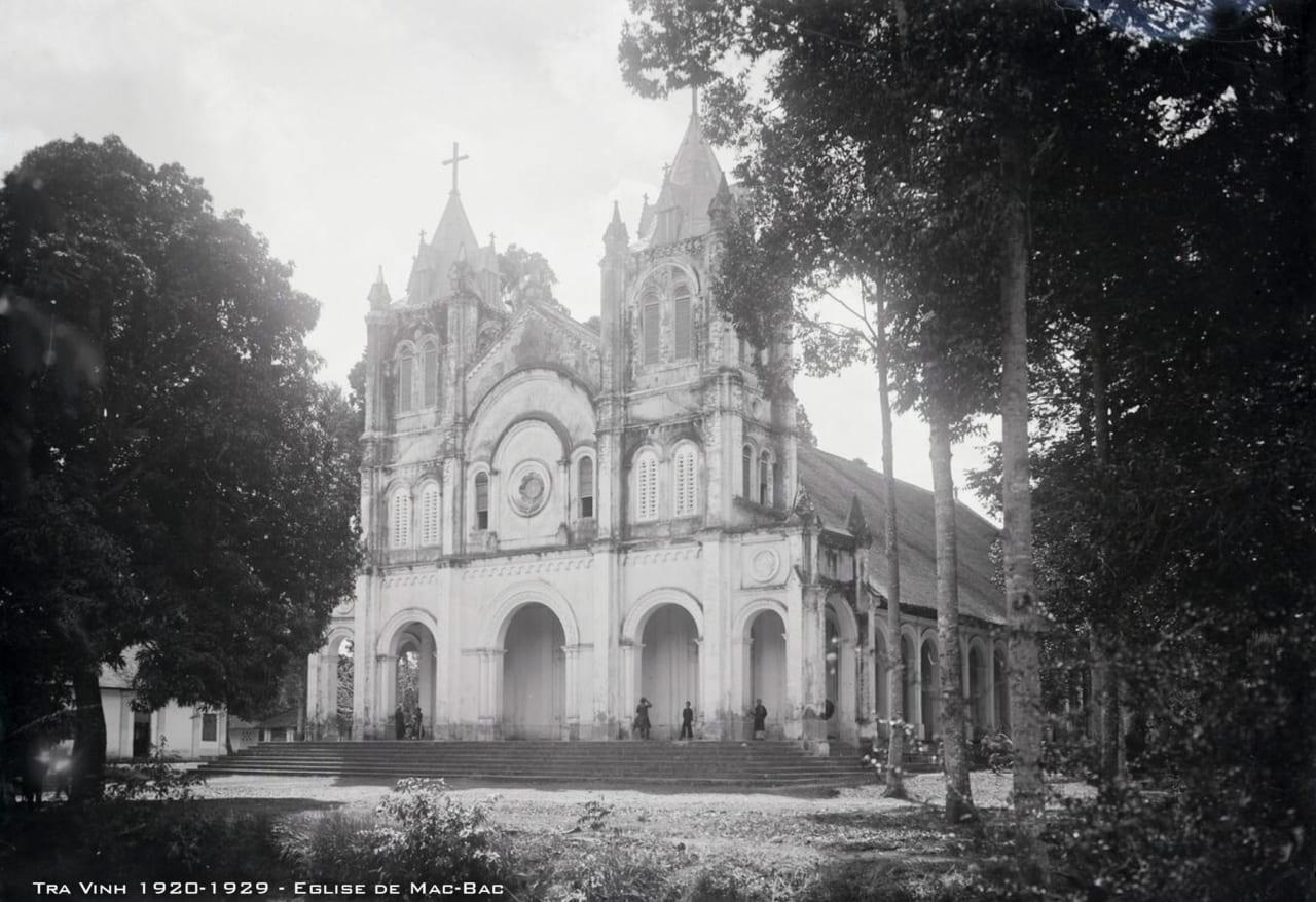 Nhà thờ Mặc Bắc xưa