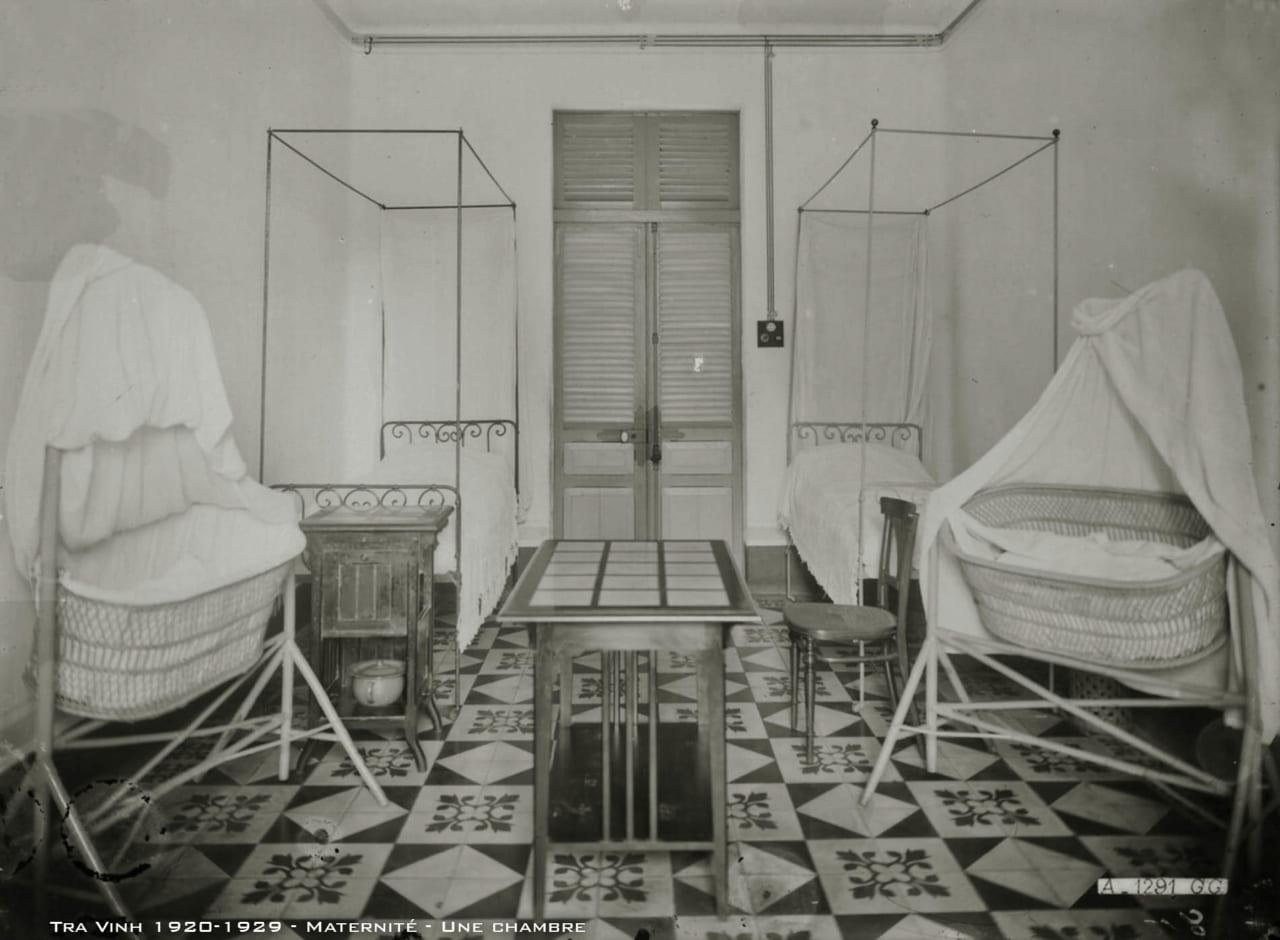Phòng phụ sản bệnh viện tỉnh Trà Vinh thập niên 1920