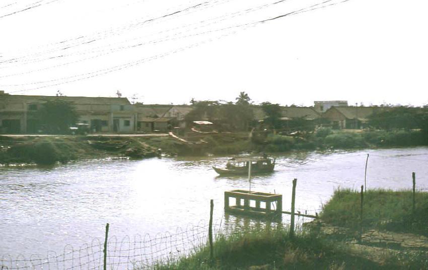 Sông Cao Lãnh năm 1968 - Hình ảnh Đồng Tháp xưa