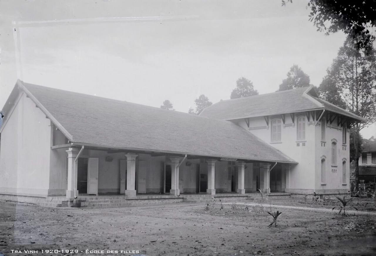 Trường nữ sinh Trà Vinh xưa
