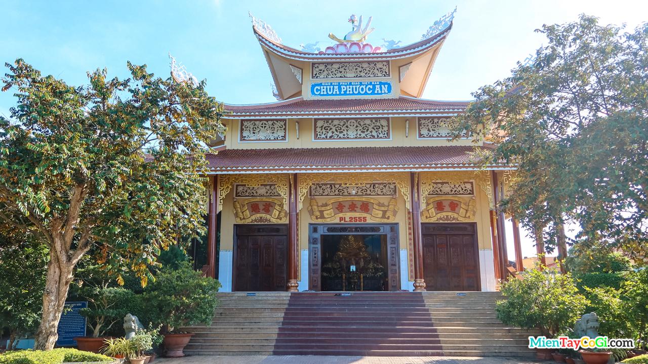 Chánh điện chùa Phước An