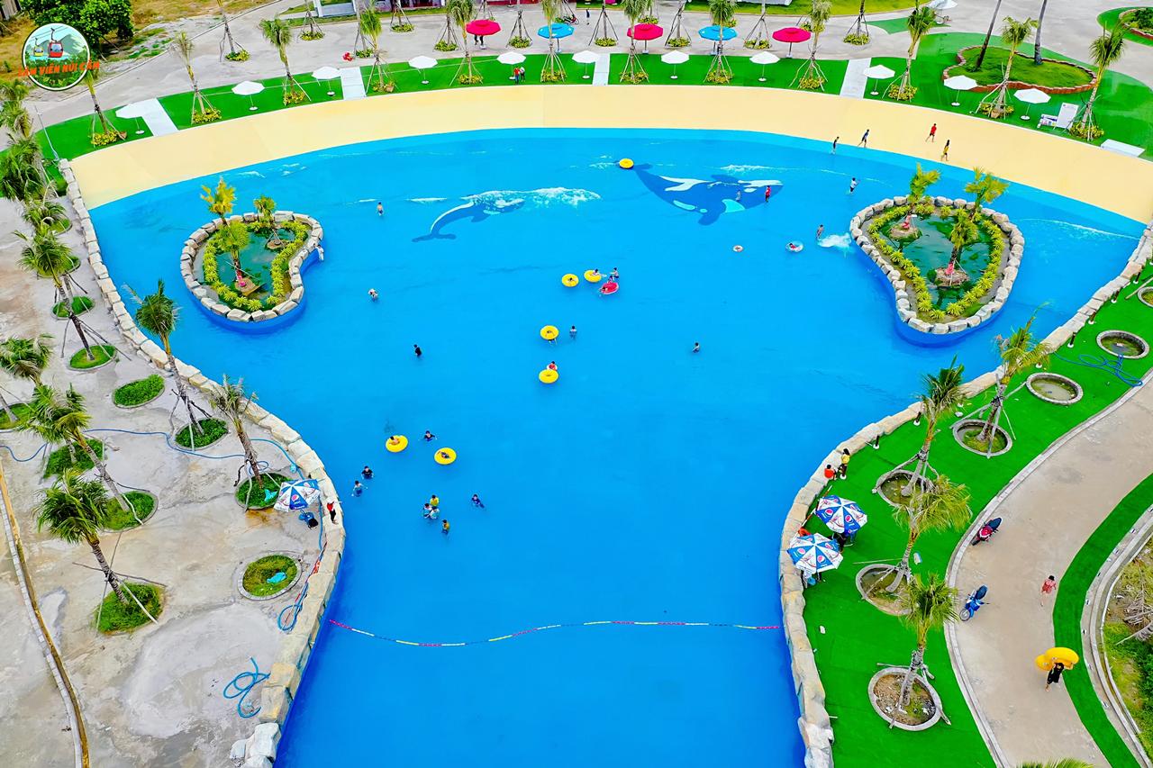 Khu hồ nước tạo sóng nhân tạo công viên nước