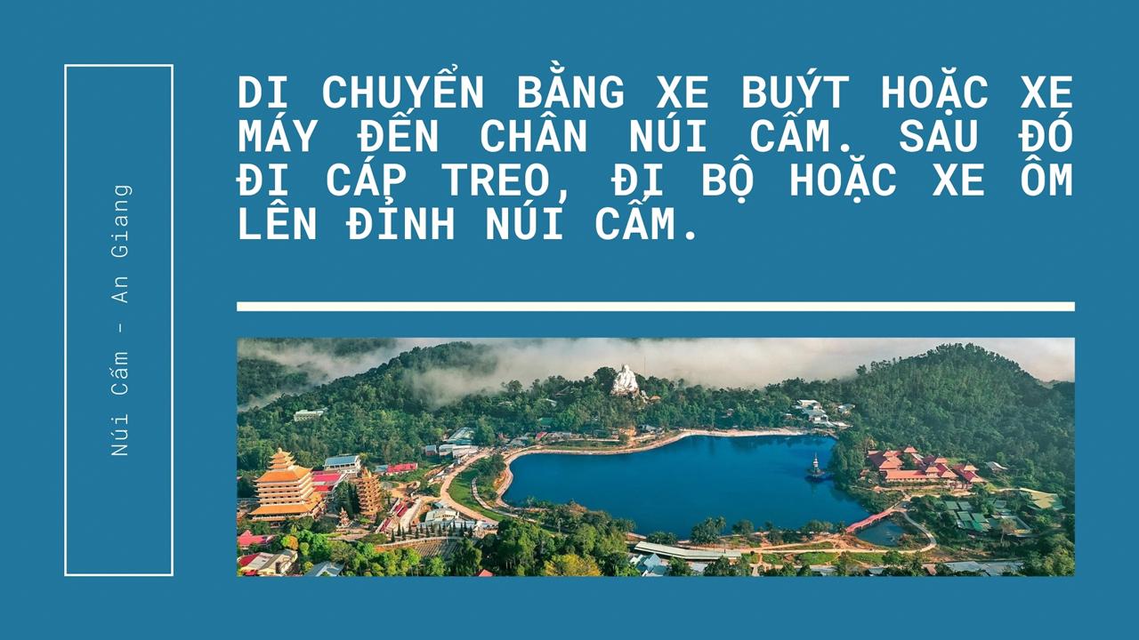 Quote cách di chuyển lên đỉnh núi Cấm