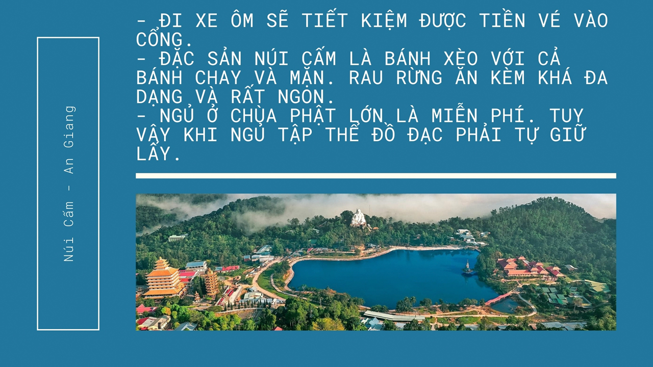 Quote kinh nghiệm du lịch Thiên Cấm Sơn An Giang