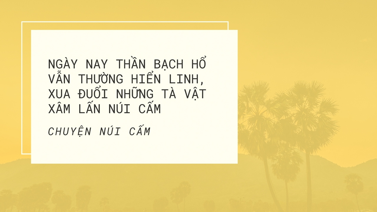 Quote thần Bạch Hổ