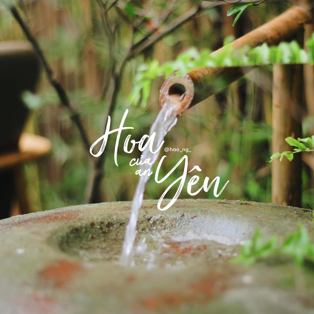 Tiếng nước róc rách từ Hoa của An Yên