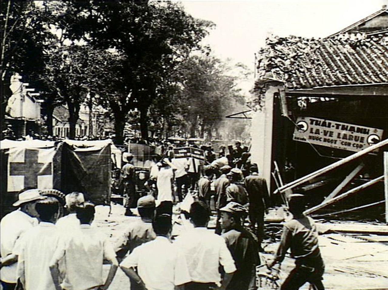 Vụ đánh bom nhà hàng Thái Thanh năm 1965
