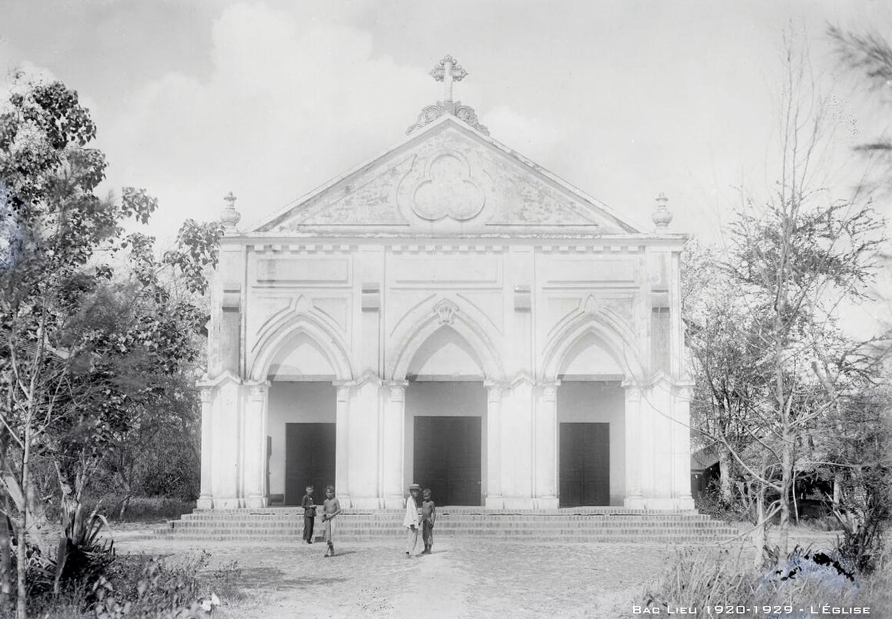 Nhà thờ Bạc Liêu thập niên 1920s