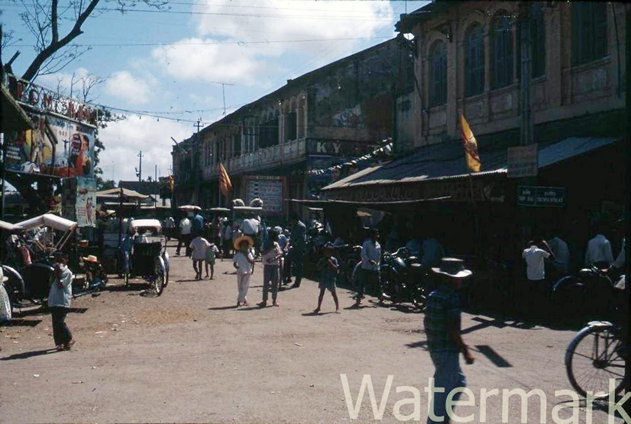 Đường Trương Vĩnh Ký năm 1967 (Nay là đường Hoàng Văn Thụ)