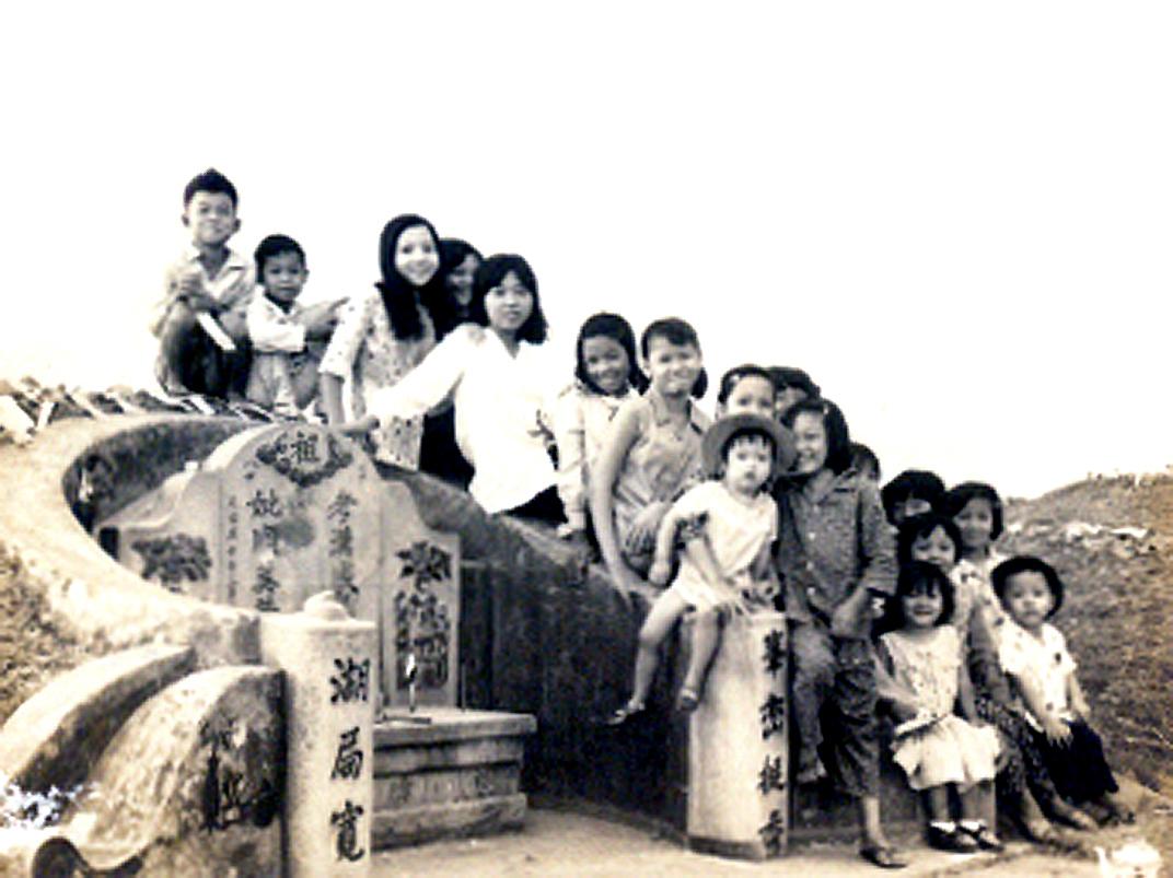 Lễ Thanh Minh năm 1972 Vĩnh Phước - Vĩnh Châu - Bạc Liêu