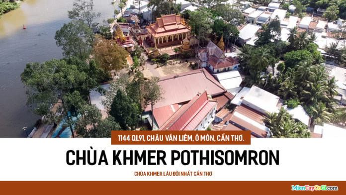 Chùa Khmer Pothisomron Ô Môn
