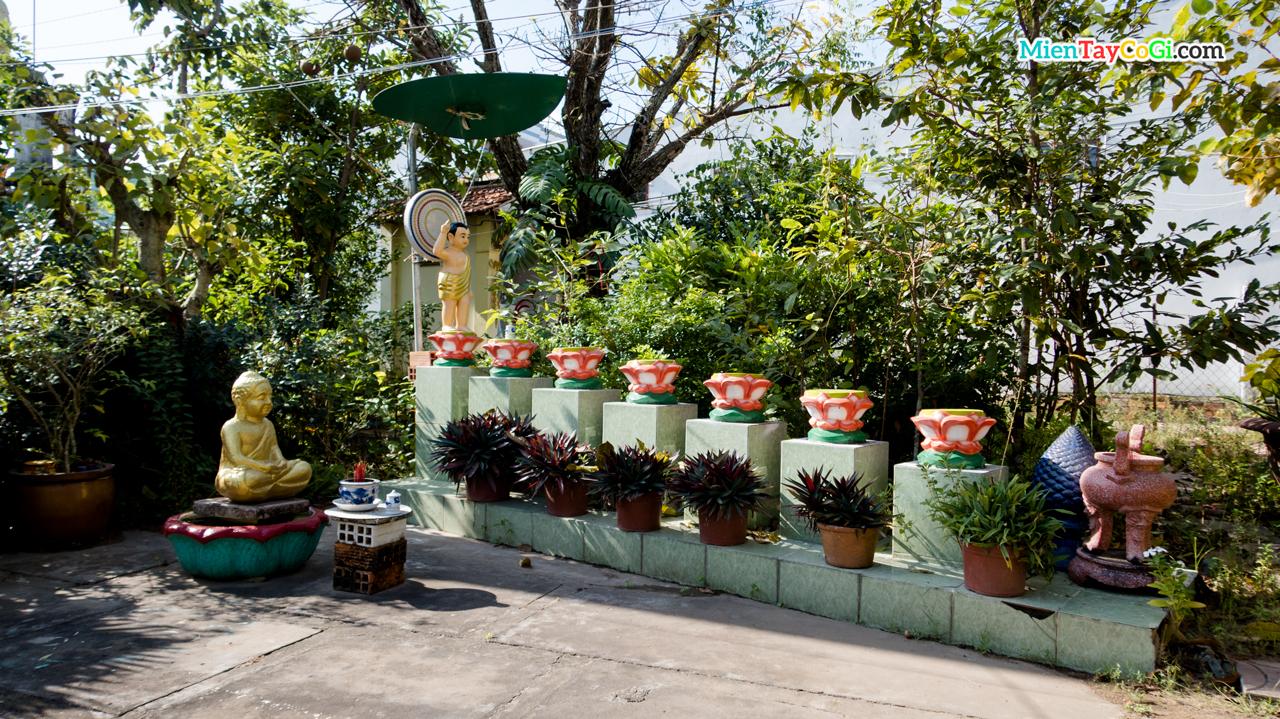 Mô phỏng vườn Lâm Tỳ Ni Linh Thạnh Tự